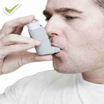 Inhalers for asthmatics do not invalidate fasting
