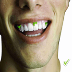Traces of food in the mouth do not invalidate fasting