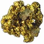 Crude gold