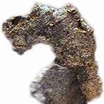 Crude silver