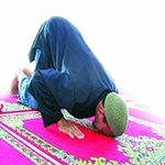 Prostrating and Rising up from it